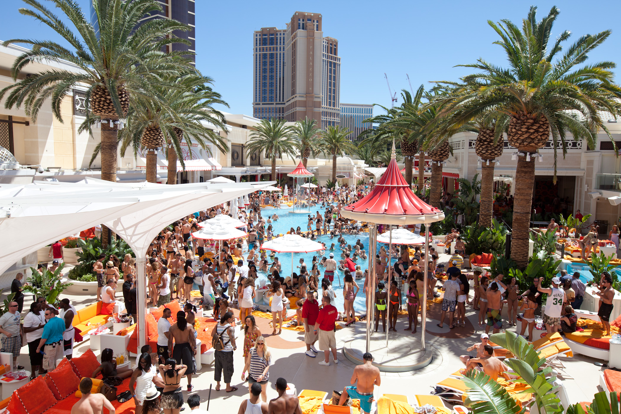 Book Vegas Pool Parties
