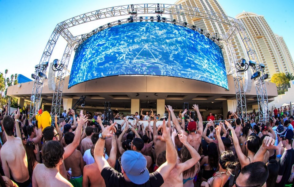 top 10 vegas pool parties