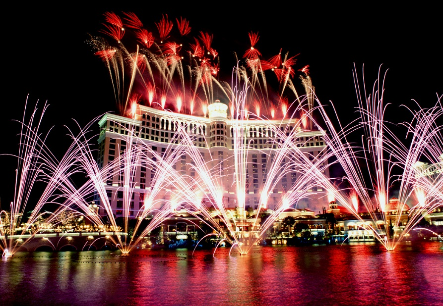 New Years Eve Hotel Fireworks