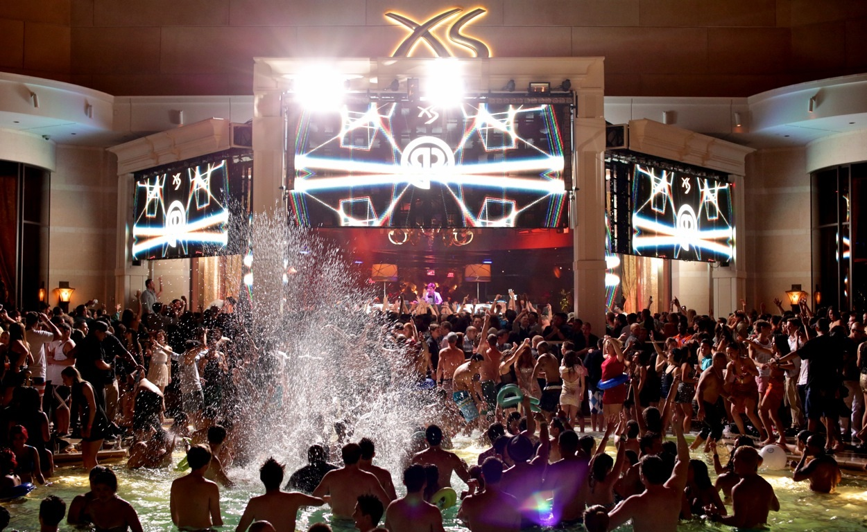 What are the best nighttime pool parties in Las Vegas? - Vegas ...