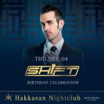 DJ Shift at Hakkasan Las Vegas