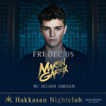 Martin Garrix with Julian Jordan at Hakkasan Las Vegas