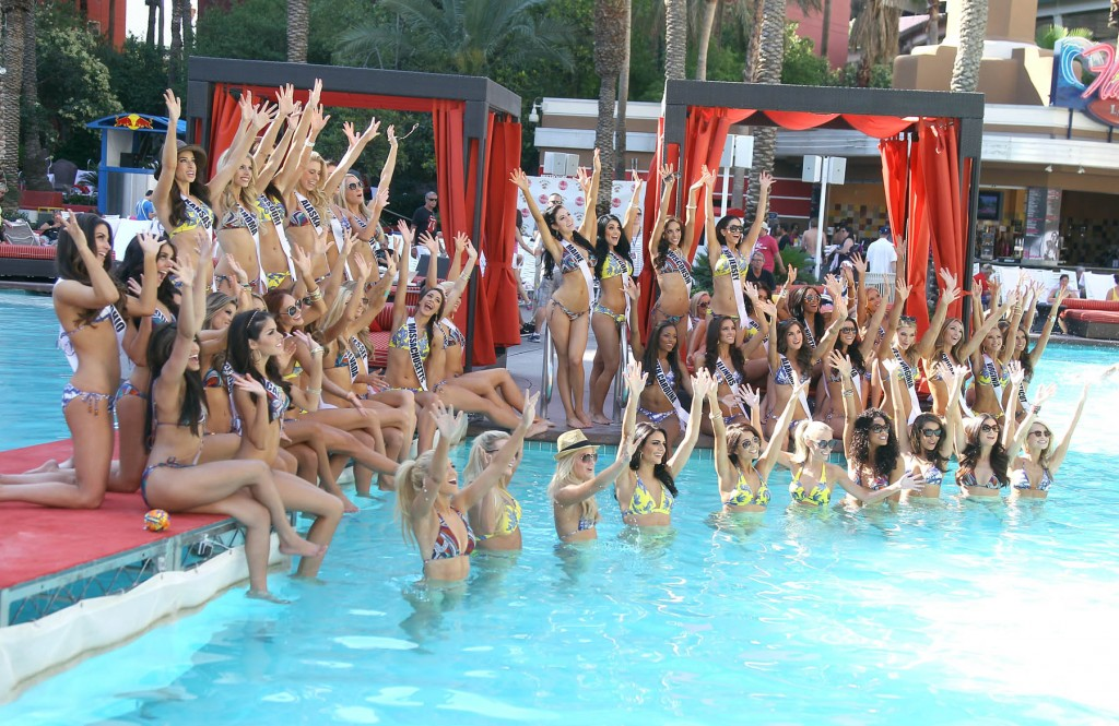 Miss USA Pool Party in Las Vegas